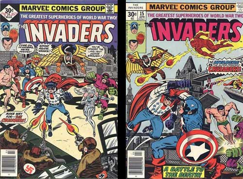 Invaders vs Crusaders