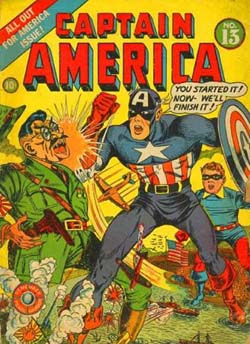 Captain America vs Japan