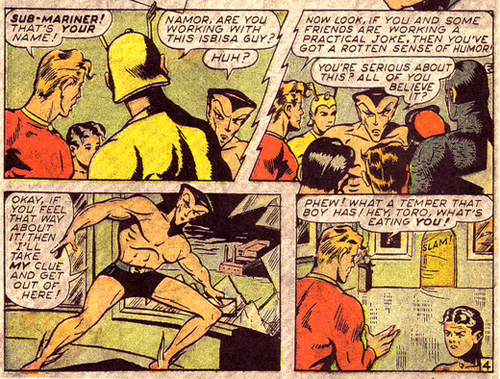 Namor Gets Mad