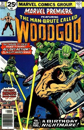 The Man Brute called Woodgod
