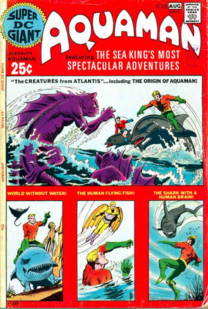 Aquaman 25 cent Giant Sized